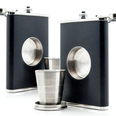 Shot Flask 2 Pack, $37, now featured on Fab.
