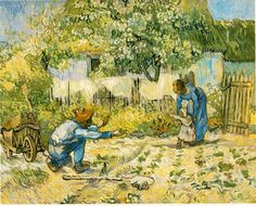 Vincent Van Gogh - First Steps (my hands down favorite Van Gogh)