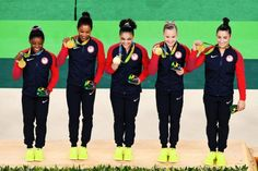 8/9/16 Via Buzz Feed  ·   The US women's gymnastics team won gold after a gravity-defying performance http://bzfd.it/2aXPiGB