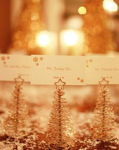 such a cool idea for winter weddings