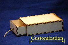 Treasure chest Box holder keeper drawer CNC Cut file by projectCNC