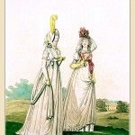 MORNING DRESSES, October 1794 from Gallery of Fashion vol 1