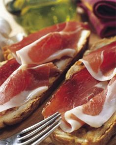 www.patanegrakoning.nl  00 31 0644538529  Tosta de ajo asado con jamon iberico