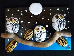 #taşboyama #taştablolar #stonetables #owls