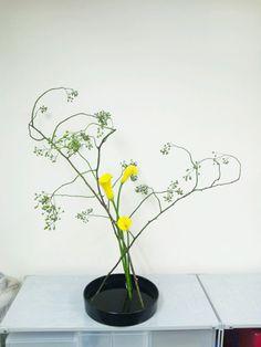 草月流 「森彩琳」 の いけばな日記: 10月 2012