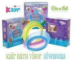 Kair Bath Visor #Giveaway- No more tears at bathtime!