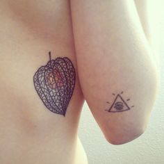 It's a dedication both to my lover, as the french nickname for this fruit is amour en cage (love in a cage), and to my family, as it followed every single summer of my childhood. It was done one year after my grandma's death.  So, the most important meaning to me is a tribute to her.