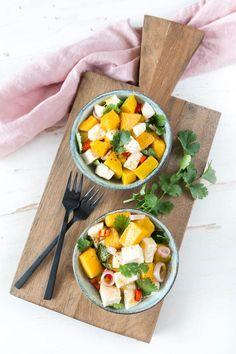 Mango Mozzarella Salat