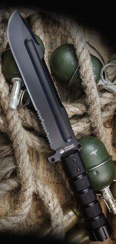Kizlyar KK0076 Survivalist AUS-8 Russian Made Titanium Tactical Knife Blade #tacticalknife