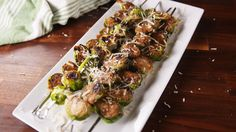 Grilled Brussels Sprouts  - Delish.com