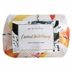 Coconut Milk Mango Triple Milled Bar Soap