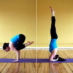 Balancing Yoga Sequence - this active sequence is an intro to how yoga challenges your equilibrium