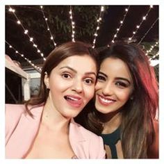 Image may contain: 2 people, closeup Hiba Nawab, Deepika Singh, Sonarika Bhadoria, Erica Fernandes, Niti Taylor, Cool Websites, Bollywood, Celebs, Actresses