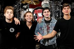 5 Seconds of Summer 2015 Sydney Photo Shoot