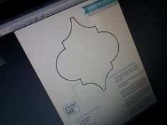 Printable Moroccan stencil to make frosted window covering out of contact paper, tutorial and stencil from http://7thhouseontheleft.com/2011/08/window/