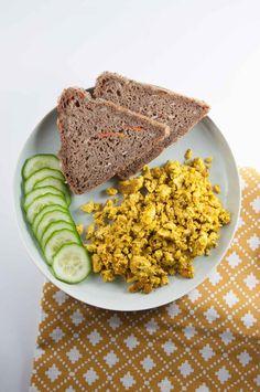 ... for basic tofu scramble the vegan alternative to scrambled eggs due