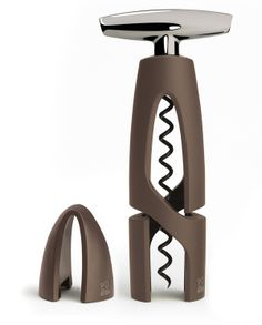 New universal corkscrew and foil cutter for PEUGEOT by Nicolas Brouillac, via Behance