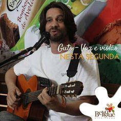 Guto - Voz e Violão Data: 24/03/2014 Horário: 20h Local: Belisque http://www.oigoiania.com.br