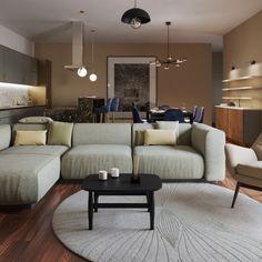 Individuell, nachhaltig & modern: Lassen Sie sich von unserer neuesten Interior Design Referenz überzeugen. Couch, Modern, Furniture, Home Decor, Architecture, Settee, Trendy Tree, Decoration Home, Sofa