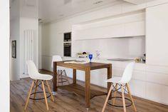 Moderna y elegante #cocina en un precioso ático en el centro de #Madrid / Modern and elegant kitchen in beautiful penthouse in the center of Madrid