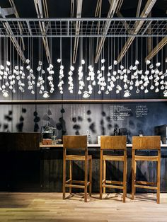 Origo Coffee shop designed by Lama Arhitectura