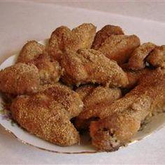 Breaded Chicken Wings Recipe - Allrecipes.com
