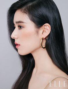 Slim Fit Jeans für Damen - Famous Last Words Asian Eye Makeup, Korean Makeup, Korean Beauty, Asian Beauty, Shakira, Beauty Make Up, Hair Beauty, Dramas, Kpop Girl Bands