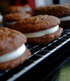 Hot Chocolate Whoopie Pie - just made these & the cookies are DELICIOUS