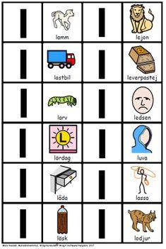 memory-bokstaver-k-o-bild-2 Learn Swedish, Swedish Language, Memories, Education, Learning, Character, School Ideas, Ikea, To Study