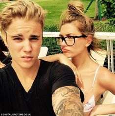 'The one and only' Justin shared this sweet Instagram snap after meeting up with Hailey in Miami