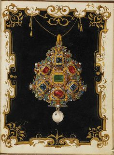 Jewel Book of the Duchess Anna of Bavaria (1550s) r by peacay, via Flickr