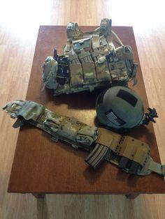 Nice Loadout:  Eagle PC, VTAC w/ Cobra belt, Gentex ACH Helmet