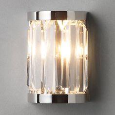 John Lewis Wall Light Fittings: Buy John Lewis Quartz Bathroom Wall Light Online at johnlewis.com,Lighting