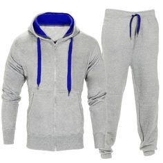Men Stretchy Trousers Hooded Coat Jacket Pants Jogging Sports Tracksuit Set Features: is made of high quality materials, durable for your daily wearing Mens Tracksuit Set, Family Guy Quotes, Sugar Skull Costume, Filipino Tattoos, Herren Winter, Track Suit Men, Men Trousers, Pants, Fashion Outfits
