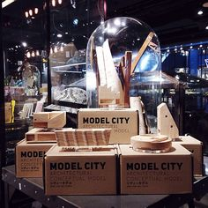"""* 2nd COLLECTION OF MODEL CITY / MEMORY UNKNOWN _ @ THE SELECTED SIAM CENTER , 3rd FLOOR . LET's CREATE YOUR OWN UTOPIA , Architectural Conceptual Model [ シティーモデル _ 建築のコンセプトモデル ] by Our """" TEAM DESIGNED BUILT """" @the_selected @siamcenter"""