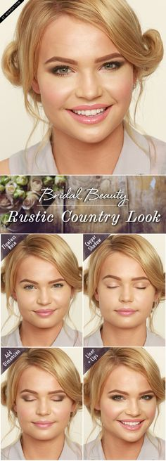 Bridal Beauty: Rustic Country Look