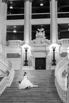 PA State Capitol Rotunda wedding | April and Bryan Photography