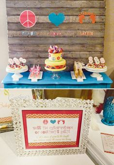 peace-love-baby-shower-dessert-table