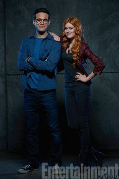 Climon!!!!!  Promotional pictures. Photo credit: @EW. : Bob D'Amico/ABC Family. (Via Nephilimevents on tw)