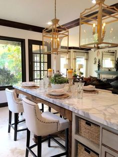 Vicki Gunvalson's New Kitchen | Designs By Katy