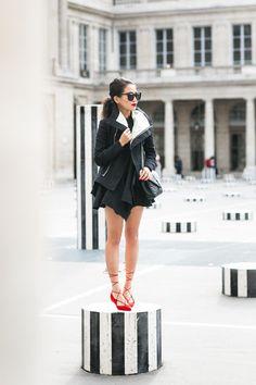 Paris Love :: Flared hem