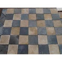 Le carrelage :: Limestone & slate reclaimed antique French stone flooring