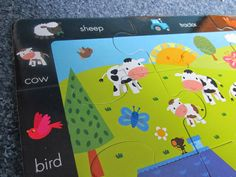 Educational puzzle included! View my review on this fun sticker book with puzzle! From Little Tiger Press