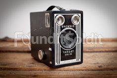 Vintage Eastman Kodak Brownie Target Six-16 film box camera