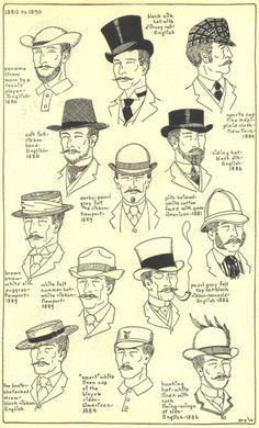 Sombreros de caballero, Inglaterra
