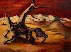Russell Drysdale ~ Chinese muren ~ 1945 ~ Olieverf op hardboard ~ x 101 cm. ~ Art Gallery of New South Wales, Sidney Australian Painters, Australian Artists, American Figurative Expressionism, Neo Dada, Art Informel, Contemporary African Art, Digital Art Photography, Aboriginal Artists, Academic Art