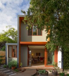 A Prefab Detached Studio in Hawthorn Adds Limitless Flexibility Louvre Windows, Timber House, Grand Designs, House Extensions, Prefab, Home Projects, Tiny House, Shed, Granny Flat