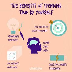 What better way than to celebrate with your own company? Did you know there are so many benefits to spending time alone? Here are a few of our favorites! How To Better Yourself, Take Care Of Yourself, Get My Life Together, Self Care Activities, Do What You Want, Self Improvement Tips, Healthy Eating Habits, Self Care Routine, How To Stay Motivated