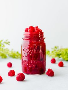 This versatile rich and beautifully flavored Raspberry Sauce is finger-licking good! Use it over pancakes ice cream yogurt or dessert! Raspberry Desserts, Raspberry Sauce, Fun Easy Recipes, Fudge Recipes, Baker Recipes, Dip Recipes, Fall Recipes, Dessert Recipes, Recipes