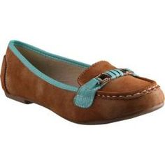 Women's Beston Nassa-03 Camel/Mint Faux Suede
